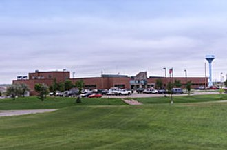 Oglala Lakota County, South Dakota - Image: Pine Ridge Indian Health Service Hospital