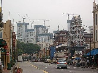 The Pinnacle@Duxton - Image: Pinnacle@Duxton on South Bridge Road, Singapore