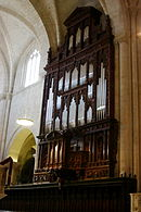 Pipe organ - Cathedral of Tarragona - Catralonia 2014.JPG
