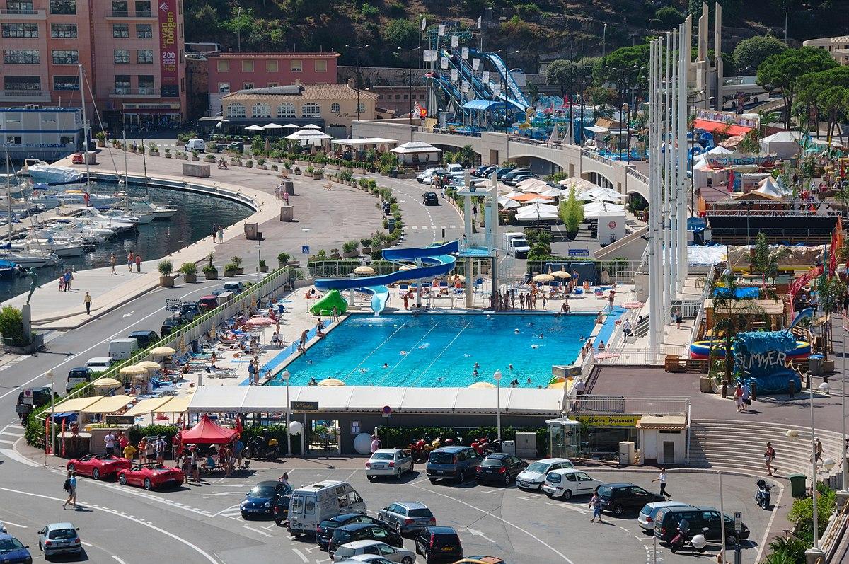 Rainier iii nautical stadium wikipedia for Piscine pool