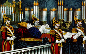 English: Pope Pius IX funeral.