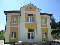 Plachkovtsi town hall