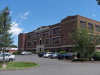 Plainville High School - East Street school
