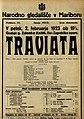 Plakat za predstavo Traviata v Narodnem gledališču v Mariboru 2. februarja 1923.jpg