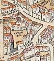 Plan de Paris vers 1550 college de Navarre.jpg