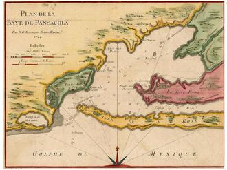 Capture of Pensacola (1719) - Bay of Pensacola