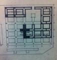Plan des nouveaux batiments de la faculté des sciences 1969.png