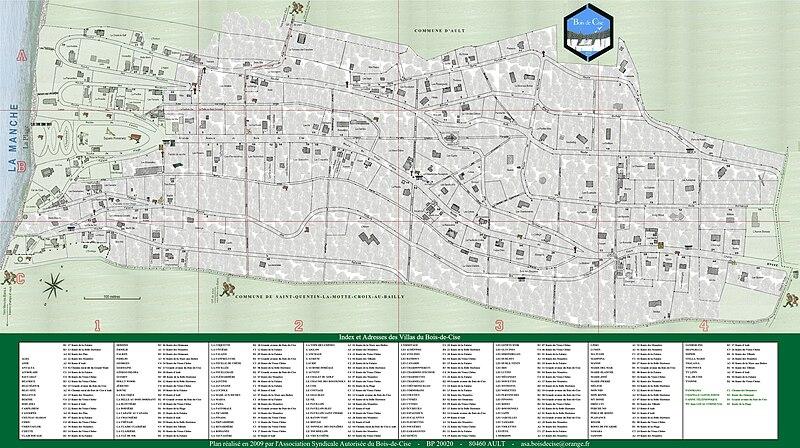 FilePlan du BoisdeCise 2009jpg  Wikimedia Commons ~ Plan Portail Bois