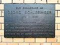 Plaque Georg Schlesinger, TU Berlin, Berlin (20171216 102337).jpg