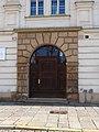 Plzeň, náměstí Republiky 40, portál.jpg