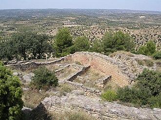 Calaceite - Image: Poblat ibèric de Sant Antoni (Calaceit, Terol)