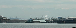 Point Defiance–Tahlequah ferry - Point Defiance ferry terminal