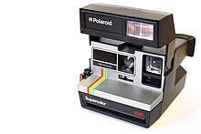 picture regarding Polaroid Camera Printable named Fast digicam - Wikipedia