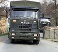 Polish Jelcz military truck, KFOR, 2001.jpeg