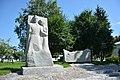 Poltava-2017 Pershotravneviy Av. 24 Monument to WW2 warriors - students and teachers (YDS 5987).jpg