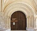 Pons-Hôpital des pélerins-Portail de l'église-20120721.jpg