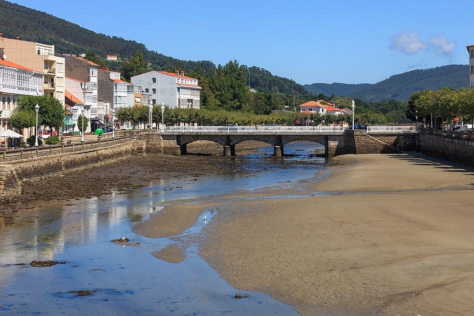 Ponte na desembocadura do río Condomiñas. Cedeira. Galiza C08