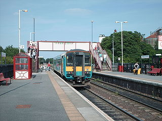 Pontefract Monkhill railway station Railway station in West Yorkshire, England