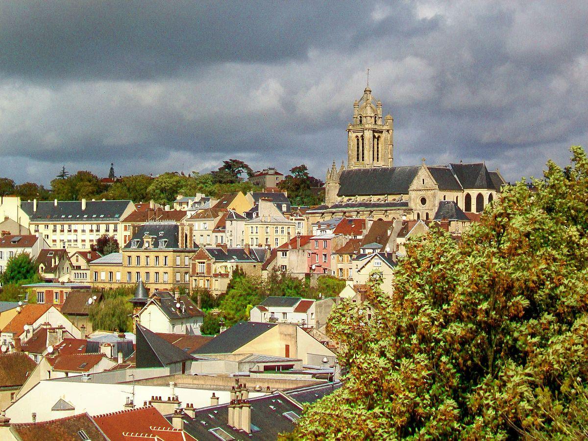 Pontoise wikipedia for Jardin 5 sens