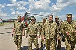 Poroshenko Chuhuiv air base Mil Mi-2 Ukraine Air Forces.jpg