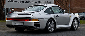 Porsche 959 - Porsche 959 (Germany)