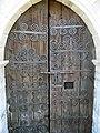 Porta romànica de l'església de Sant Genís de Montellà.jpg
