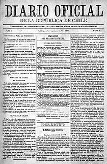 <i>Diario Oficial de la República de Chile</i>