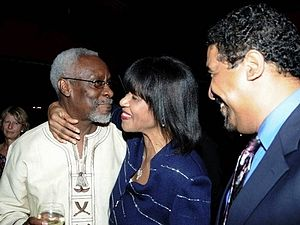 Portia Simpson-Miller - Portia Simpson-Miller with P. J. Patterson and Wykeham McNeill
