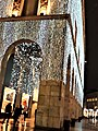 Portici settentrionali di piazza Duomo natale 2017 e luci foto 3.jpg