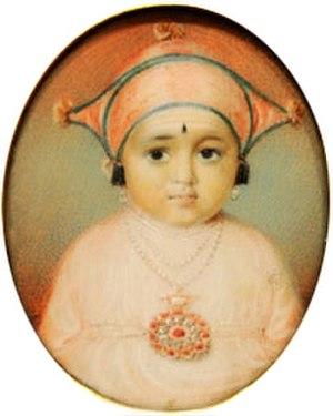 Chikka Virarajendra - Chikka Vira Rajendra (circa 1805)