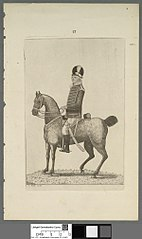 Mr. Woodrow of Pembrokeshire Cavalry stationed in Edinburgh 1798
