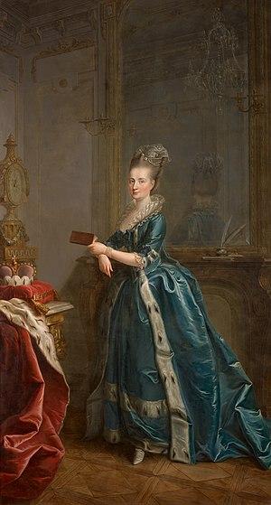 Leopoldine von Sternberg - Image: Portrait of Princess Maria Leopoldine von Liechtenstein, née Countess von Sternberg (1733 1809)