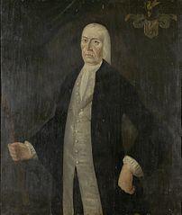 Portrait of gouverneur-generaal Jeremias van Riemsdijk