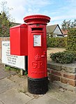 Post box at Hillview Road, Irby.jpg