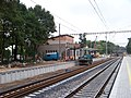 Praha-Klánovice, rekonstrukce zastávky.jpg