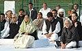 Pratibha Devisingh Patil alongwith the Vice President, Shri Mohd. Hamid Ansari, the Lt. Governor of Delhi, Shri. Tejendra Khanna, the Chairperson, UPA, Smt. Sonia Gandhi, the Member of Parliament, Lok Sabha.jpg