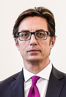 Stevo Pendarovski President of North Macedonia