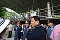President Rodrigo Duterte visits the seized shabu laboratory in Arayat, Pampanga on September 27.jpg
