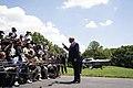 President Trump Departs the White House (48135444363).jpg