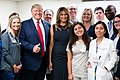 President Trump and the First Lady in Dayton, Ohio (48482552591).jpg