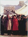 President and Mrs. Nixon visit the Great Wall of China and the Ming tombs - NARA - 194421.tif
