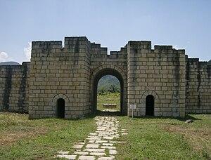 Veliki Preslav - Image: Preslav fortress 11
