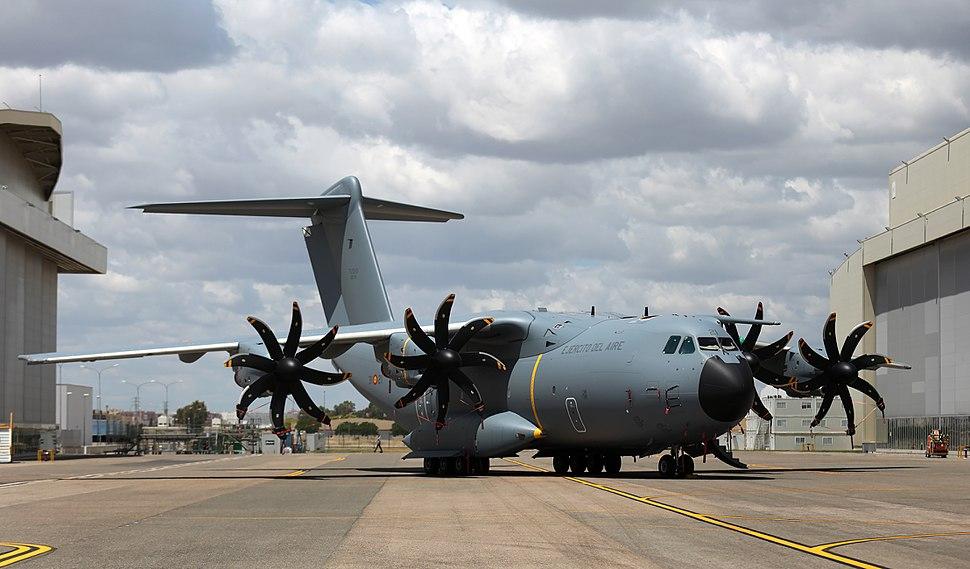 Primer A400M del Ej%C3%A9rcito del Aire (29483712836)