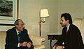 Prince Tomislav Karadjordjevic and Dejan Stojanovic, Chicago, 1993 (2).jpg