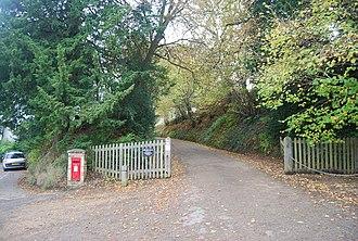 Buckhurst Park, Sussex - Private drive to Buckhurst Park