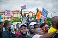 Protesters at the endSARS protest in Lagos, Nigeria 19.jpg