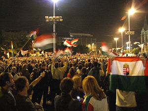 Outline of Hungary - 2006 protests in Hungary.