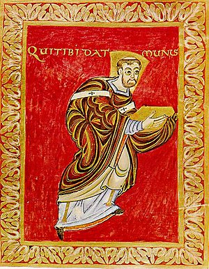 Egbert (archbishop of Trier) - Image: Psalter Egberti Egbert