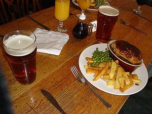 Regional cuisine - Image: Pub grub