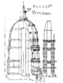 Pulitzer Bldg World Bldg dome cross section.png